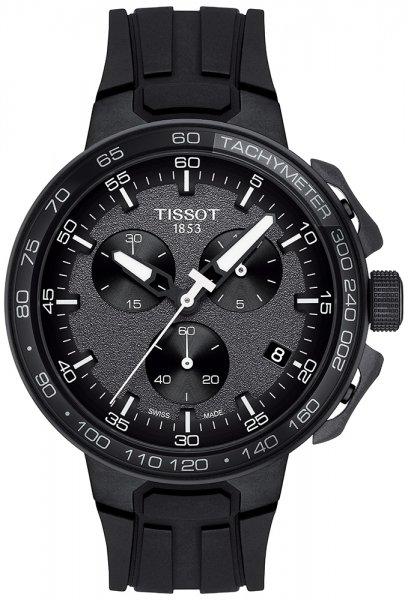Zegarek męski Tissot t-race T111.417.37.441.03 - duże 3