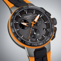 Zegarek męski Tissot t-race T111.417.37.441.04 - duże 2