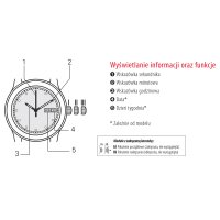 Zegarek damski Tissot t-wave T112.210.33.111.00 - duże 2