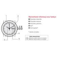 Zegarek damski Tissot t-wave T112.210.33.451.00 - duże 2