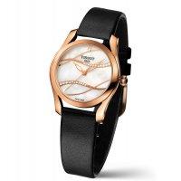 Zegarek damski Tissot t-wave T112.210.36.111.00 - duże 2