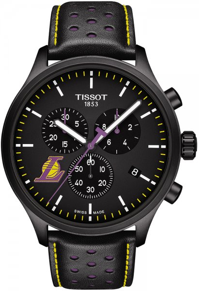 Zegarek męski Tissot chrono xl T116.617.36.051.03 - duże 3