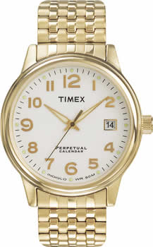 Zegarek męski Timex wieczny kalendarz T2D651 - duże 1