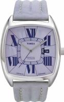 Zegarek damski Timex wieczny kalendarz T2G411 - duże 1