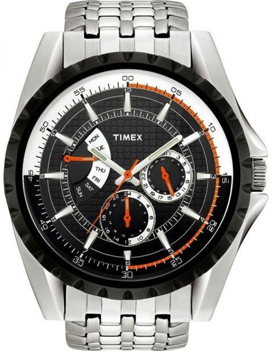 Zegarek męski Timex retrograde T2M430 - duże 1