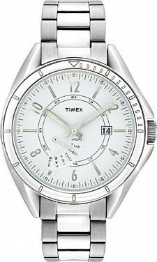 Zegarek damski Timex retrograde T2M434 - duże 1