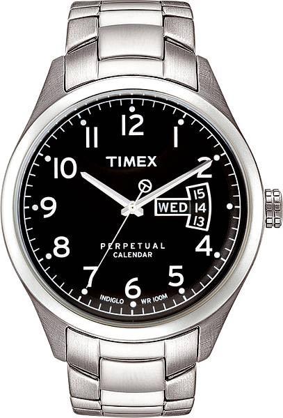 Zegarek męski Timex perpetual calendar T2M454 - duże 1