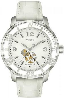 Zegarek damski Timex automatic T2M510 - duże 1