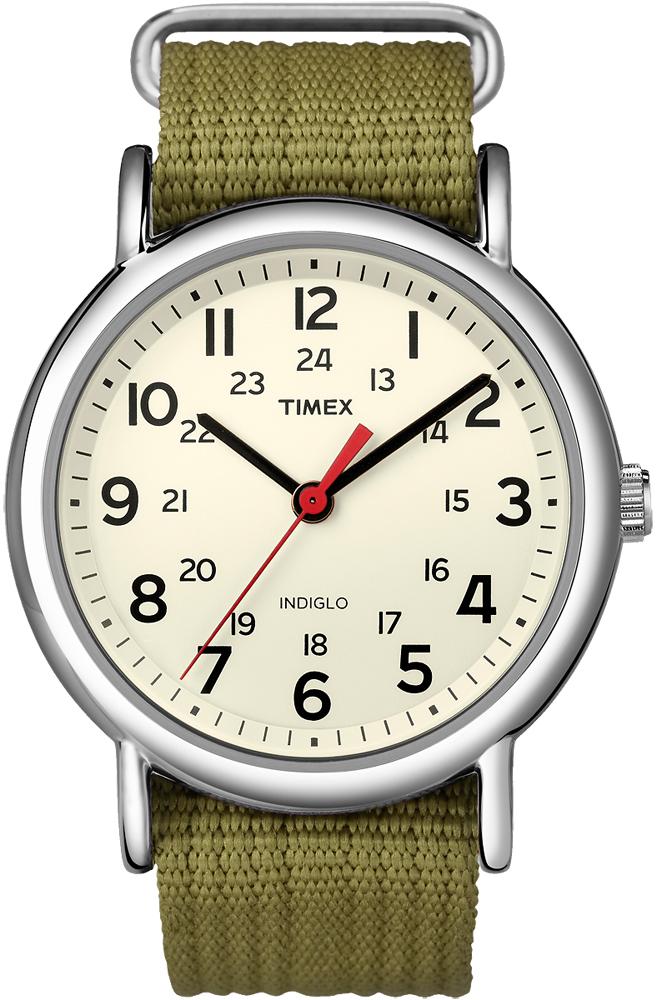 da6994e86ca4 Timex T2N651 Weekender Slip-Thru Strap zegarek męski - Sklep ZEGAREK.NET