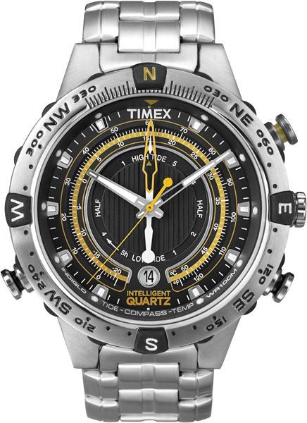 Timex T2N738 Intelligent Quartz Intelligent Quartz Tide Temp Compass