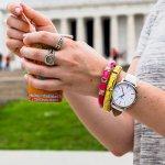 Zegarek damski Timex originals T2N791 - duże 3