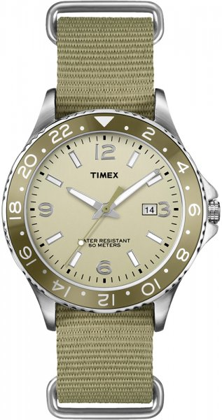 Timex T2P035 Kaleidoscope Mens Sport With Aluminum Top Ring