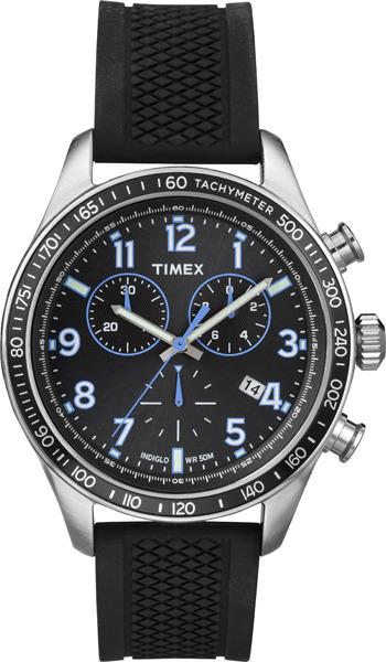 Zegarek męski Timex chronographs T2P184 - duże 1