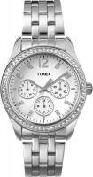 Zegarek damski Timex crystal T2P192 - duże 1