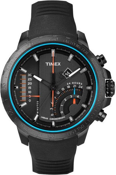 Zegarek męski Timex intelligent quartz T2P272 - duże 1