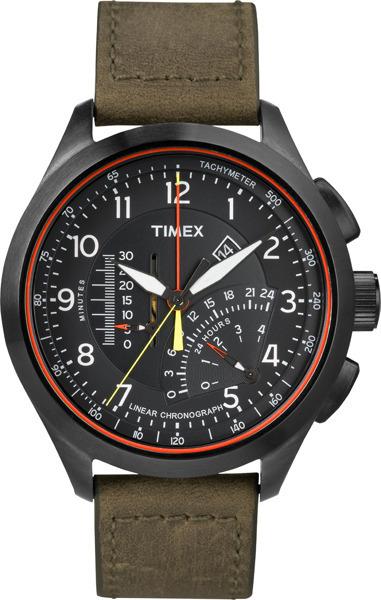Zegarek męski Timex intelligent quartz T2P276 - duże 1