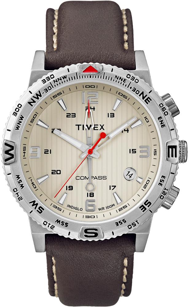 Zegarek męski Timex intelligent quartz T2P287 - duże 1