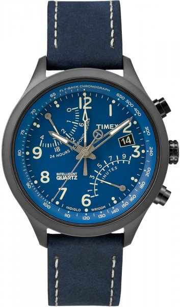 Zegarek męski Timex intelligent quartz T2P380 - duże 1