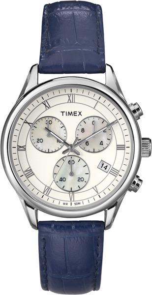Zegarek damski Timex chronographs T2P407 - duże 1
