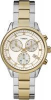 Zegarek damski Timex chronographs T2P409 - duże 1