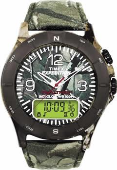 Zegarek męski Timex adventure travel T40691 - duże 1
