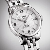 Zegarek damski Tissot le locle T41.1.183.34 - duże 3