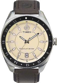 Zegarek męski Timex wieczny kalendarz T42161 - duże 1