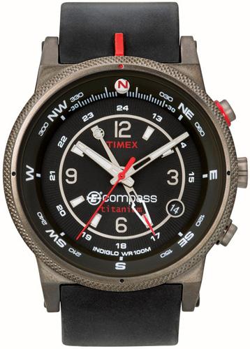 Zegarek męski Timex digital compas T49211 - duże 1