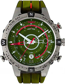Zegarek męski Timex intelligent quartz T49705 - duże 1