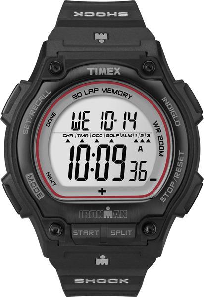 Timex T5K584 Ironman Ironman Shock Steel 30-Lap Full-Size