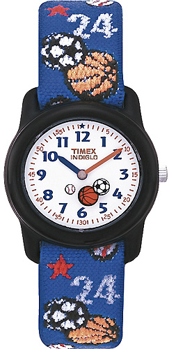 Zegarek dla chłopca Timex dla dzieci T75201 - duże 1