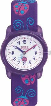 Zegarek dla dziewczynki Timex młodzieżowe T78131 - duże 1