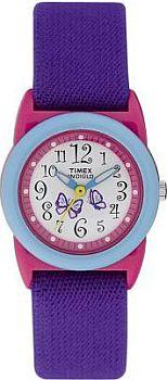 Zegarek dla dziewczynki Timex młodzieżowe T7B441 - duże 1
