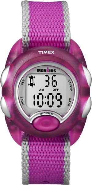 Zegarek dla dziewczynki Timex młodzieżowe T7B980 - duże 1