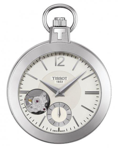 Tissot T853.405.19.267.00 Pocket Mechanical Skeleton POCKET MECHANICAL SKELETON