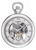 Zegarek męski Tissot pocket mechanical skeleton  T853.405.19.412.00 - duże 1