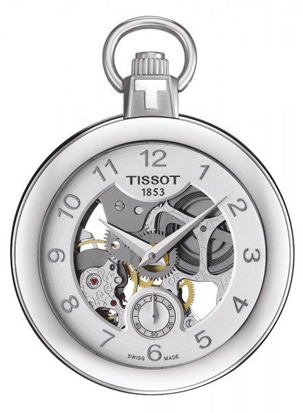 Tissot T853.405.19.412.00 Pocket Mechanical Skeleton POCKET MECHANICAL SKELETON