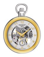 Zegarek unisex Tissot pocket mechanical skeleton  T853.405.29.412.00 - duże 1