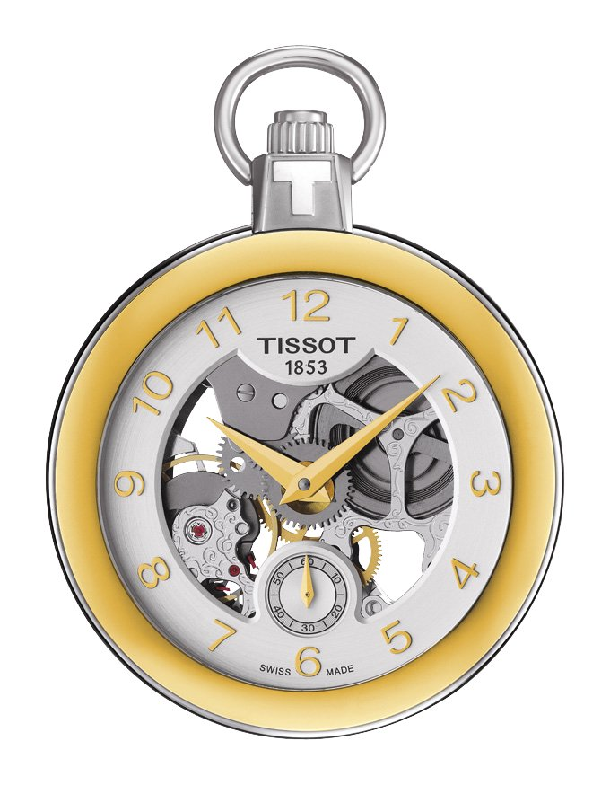 Tissot T853.405.29.412.00 Pocket Mechanical Skeleton POCKET MECHANICAL SKELETON
