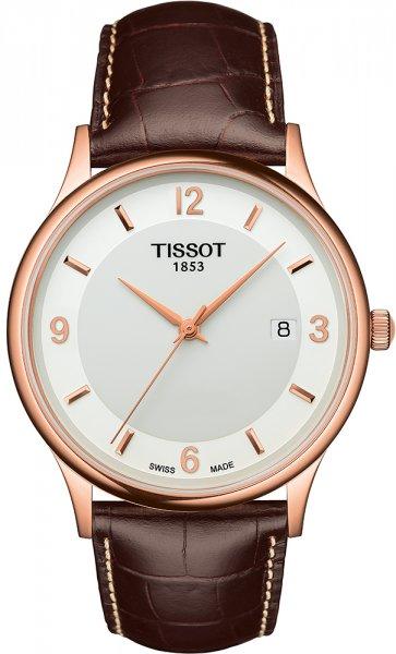 Zegarek Tissot ROSE DREAM 18K GOLD - męski