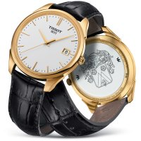 Zegarek męski Tissot vintage T920.410.16.011.00 - duże 2