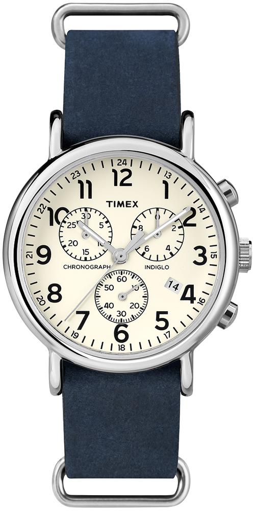 Zegarek męski Timex weekender TW2P62100 - duże 1
