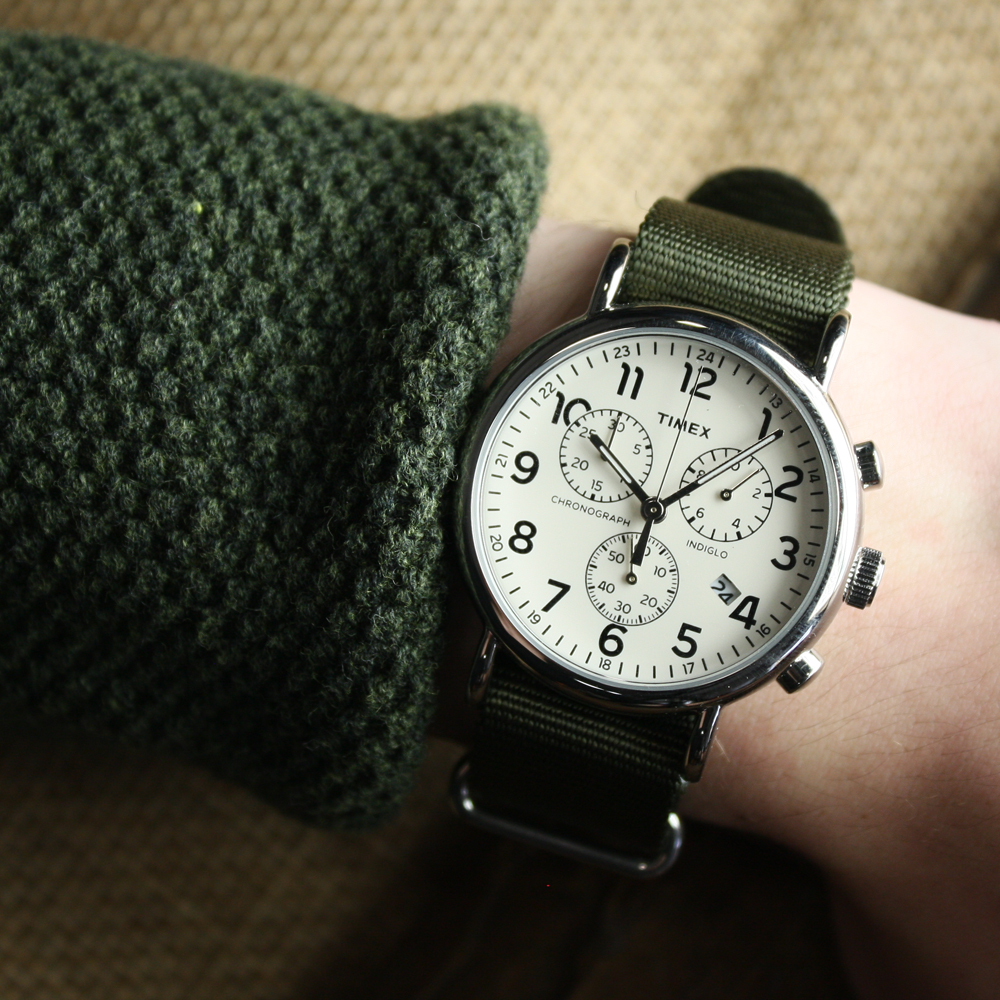 79494ac796c6 Timex TW2P71400 Weekender™ Chrono Oversize zegarek męski - Sklep ...