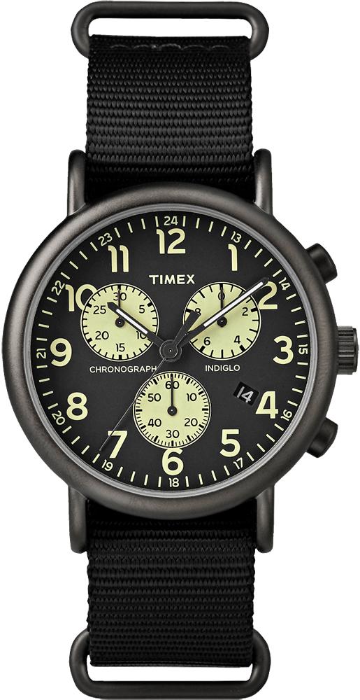 Timex TW2P71500 Weekender Weekender Classic Chrono Oversized