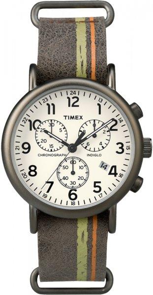 Zegarek męski Timex weekender TW2P78000 - duże 1