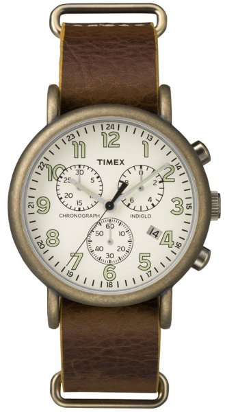 Timex TW2P85300 Weekender Weekender Classic Chrono Oversized