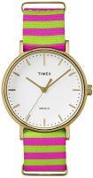 Zegarek damski Timex weekender TW2P91800 - duże 1