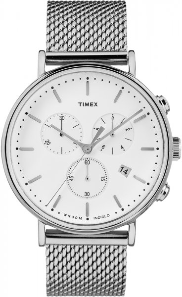 Zegarek męski Timex fairfield TW2R27100 - duże 3