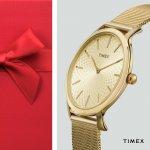 Timex TW2R36100 zegarek damski fashion/modowy Metropolitan bransoleta