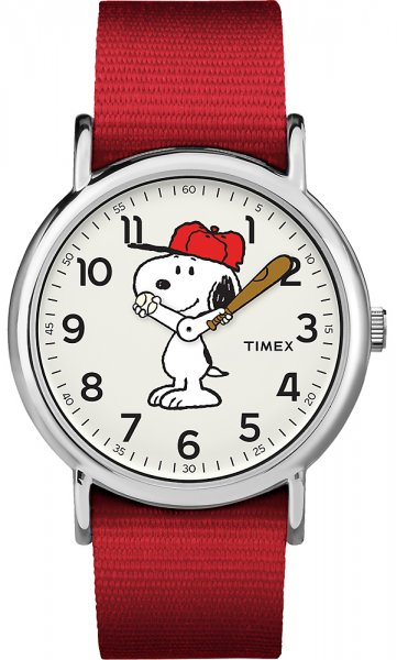 Timex TW2R41400 Weekender Timex x Peanuts Snoopy